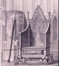 A picture depicting a throne