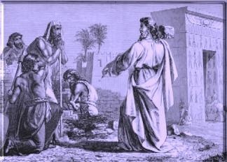 Depiction of ancient Israel